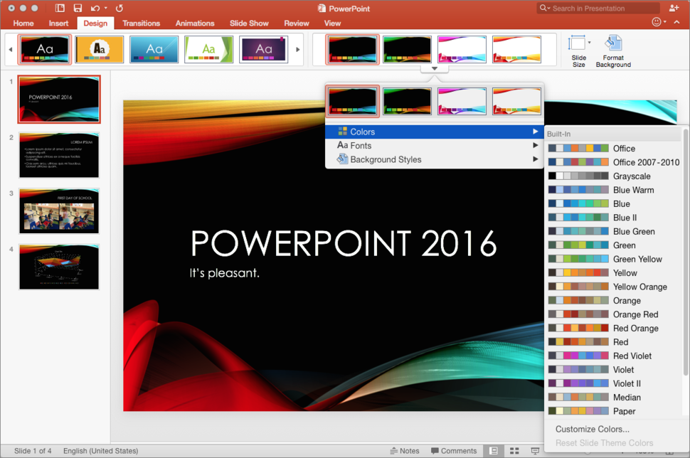 new power point
